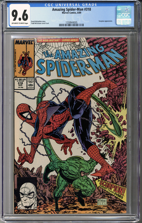 Colorado Comics - Amazing Spider-man #318 CGC 9.6