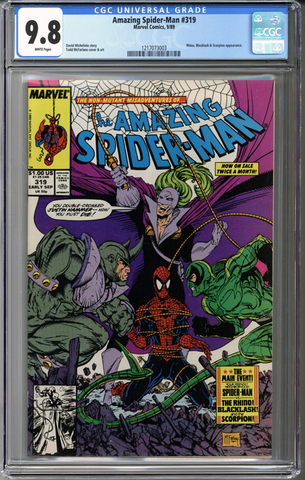 Colorado Comics - Amazing Spider-man #319  CGC 9.8