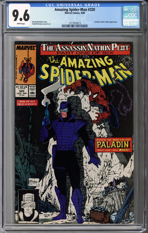 Colorado Comics - Amazing Spider-man #320  CGC 9.6