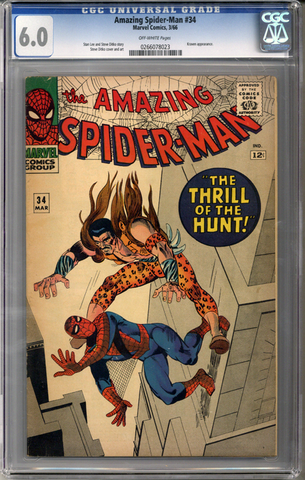 Colorado Comics - Amazing Spider-man #34 CGC 6.0