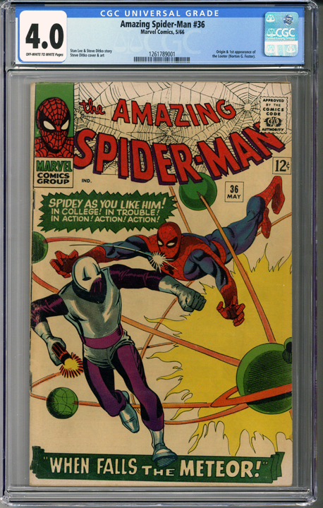 Colorado Comics - Amazing Spider-man #36 CGC 4.0