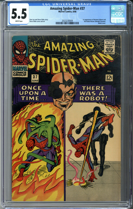 Amazing Spider-man #37 CGC 5.5
