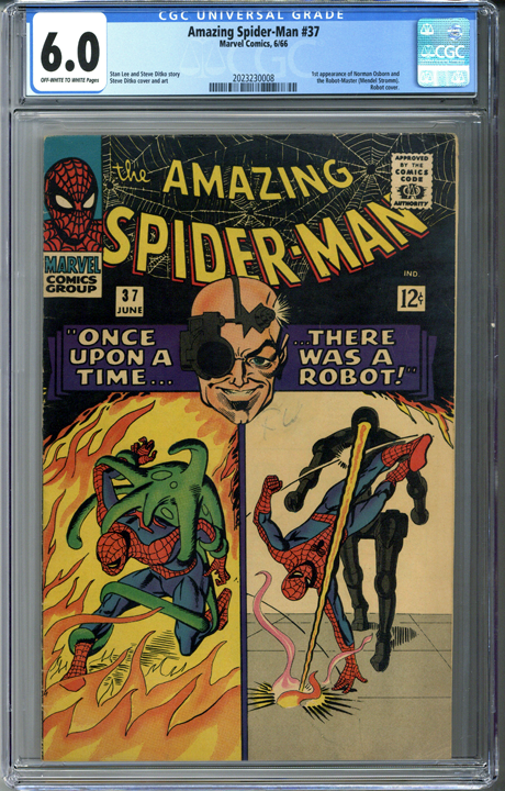 Amazing Spider-man #37 CGC 6.0