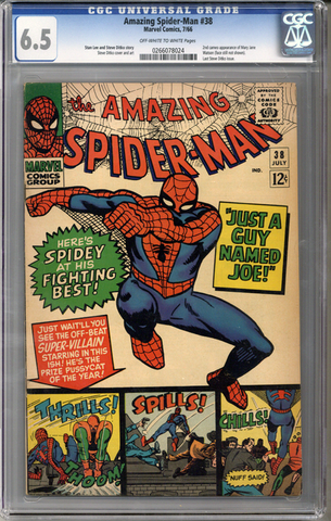 Colorado Comics - Amazing Spider-man #38  CGC 6.5