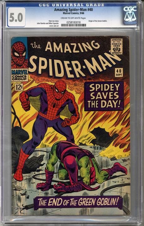 Colorado Comics - Amazing Spider-man #40  CGC 5.0