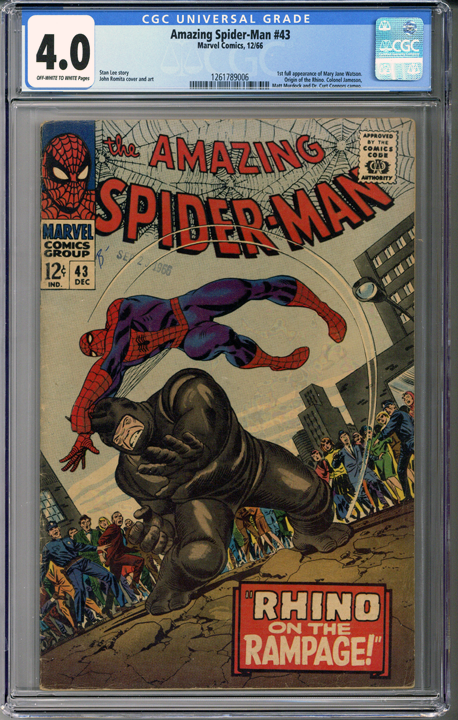 Colorado Comics - Amazing Spider-man #43 CGC 4.0