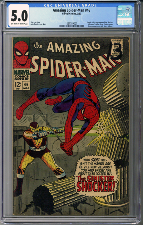 Colorado Comics - Amazing Spider-man #46 CGC 5.0