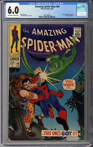 Amazing Spider-man #49  CGC 6.0