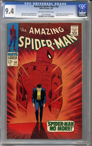 Amazing Spider-man #50  CGC 9.4