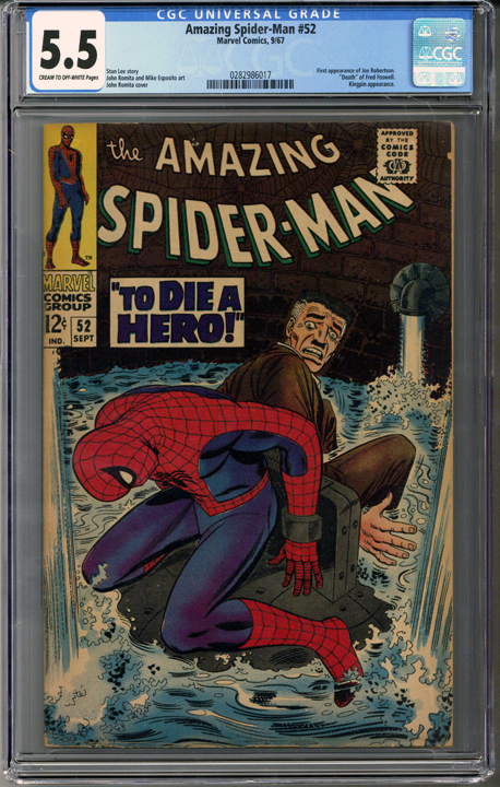 Colorado Comics - Amazing Spider-man #52  CGC 5.5