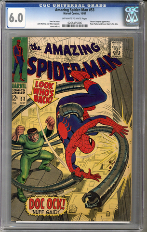 Colorado Comics - Amazing Spider-man #53  CGC 6.0