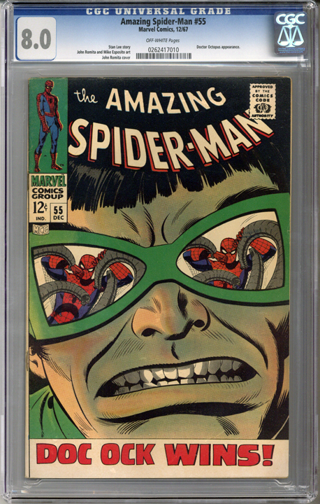 Colorado Comics - Amazing Spider-man #55  CGC 8.0
