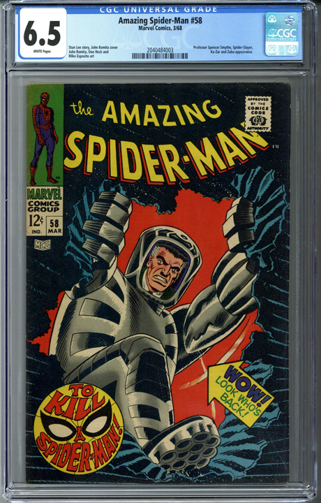 Amazing Spider-man #58 CGC 6.5