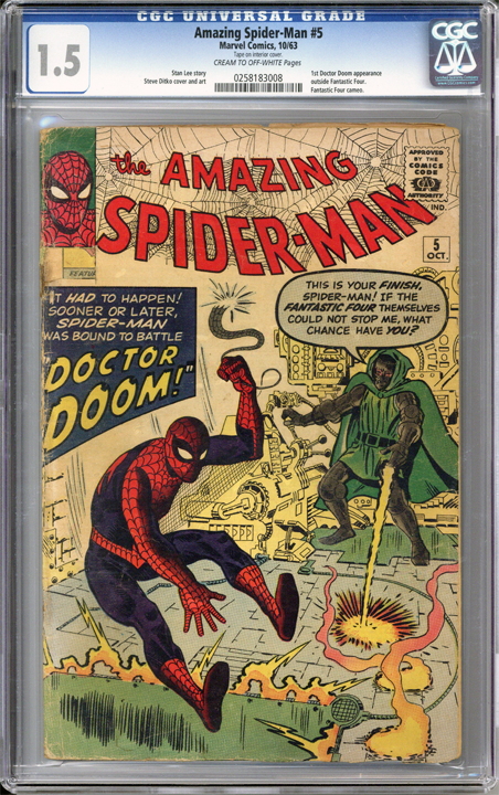 Colorado Comics - Amazing Spider-man #5  CGC 1.5