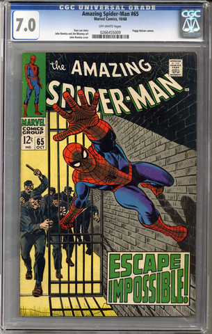 Colorado Comics - Amazing Spider-man #65  CGC 7.0