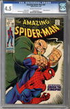 Colorado Comics - Amazing Spider-man #69  CGC 4.5