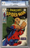 Colorado Comics - Amazing Spider-man #69  CGC 9.2