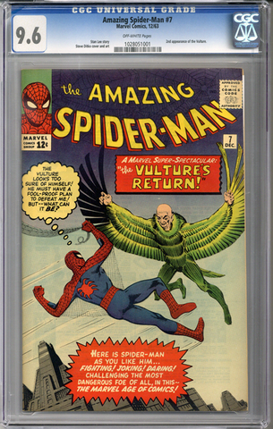 Amazing Spider-man #7 CGC 9.6