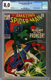 Amazing Spider-man #78  CGC 8.0
