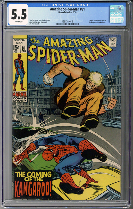 Colorado Comics - Amazing Spider-man #81 CGC 5.5