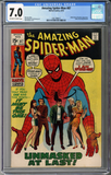 Colorado Comics - Amazing Spider-man #87 CGC 7.0