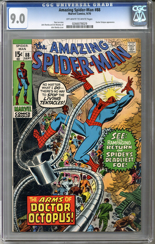 Colorado Comics - Amazing Spider-man #88  CGC 9.0