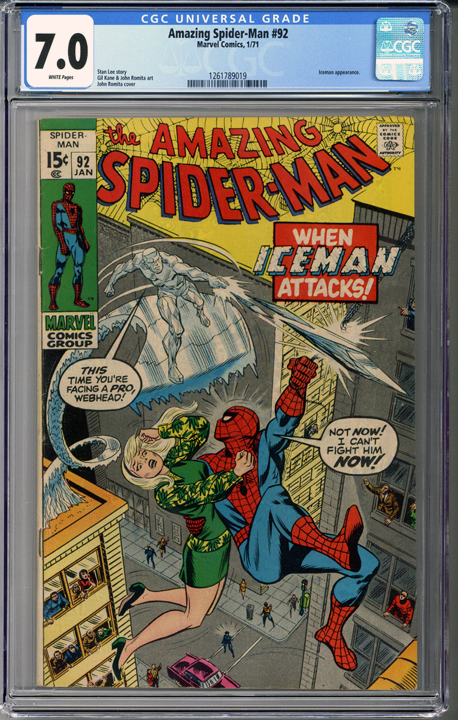 Colorado Comics - Amazing Spider-man #92 CGC 7.0