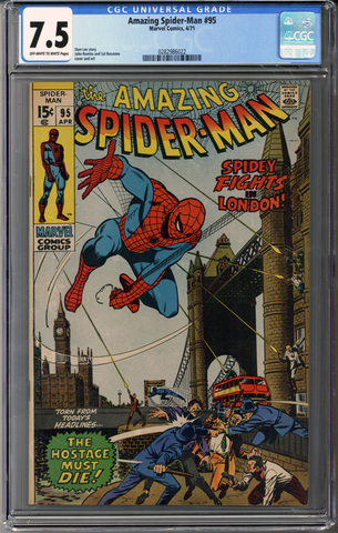Colorado Comics - Amazing Spider-man #95  CGC 7.5