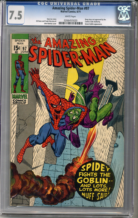 Colorado Comics - Amazing Spider-man #97  CGC 7.5