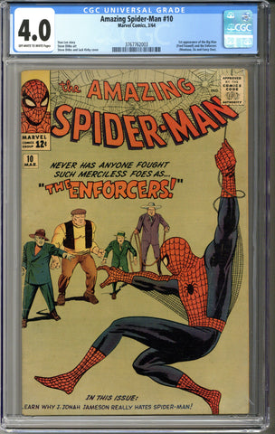 Amazing Spider-man #10 CGC 4.0