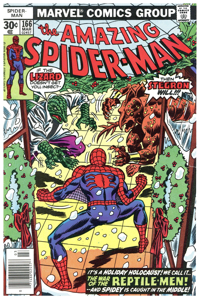 Amazing Spider-man #166 F/VF