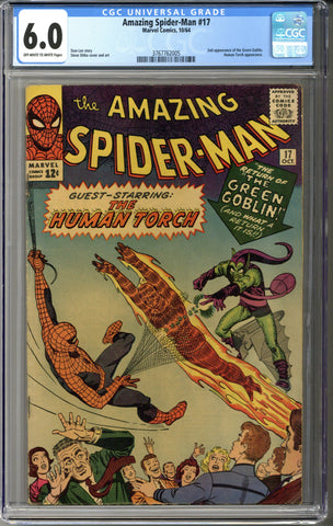 Amazing Spider-man #17 CGC 6.0