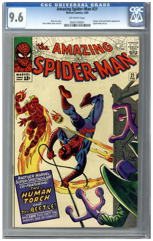 Amazing Spider-man #21 CGC 9.6