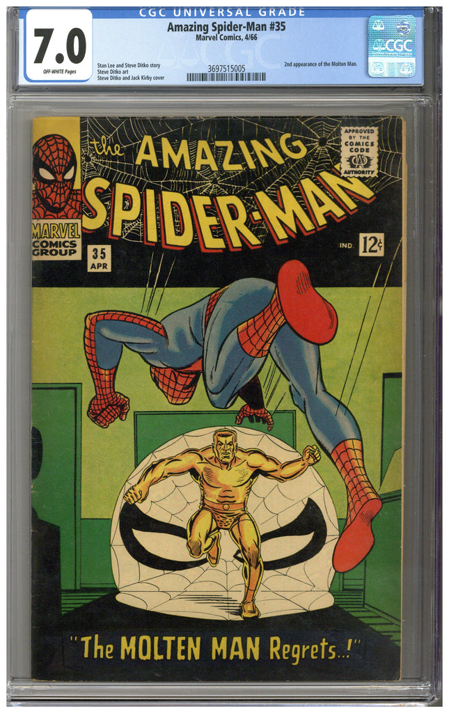 Amazing Spider-man #35 CGC 7.0