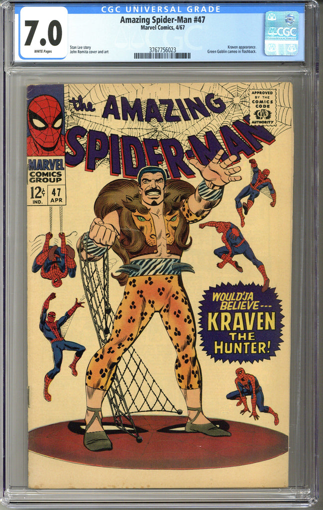 Amazing Spider-man #47 CGC 7.0