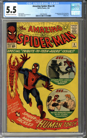 Amazing Spider-man #8 CGC 5.5