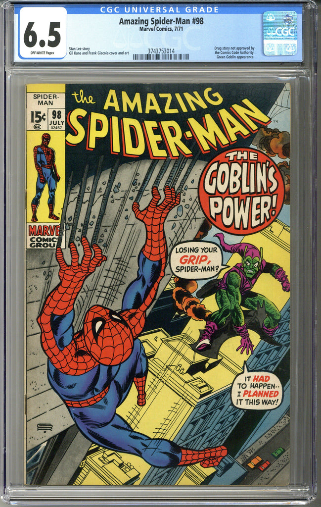 Amazing Spider-man #98 CGC 6.5