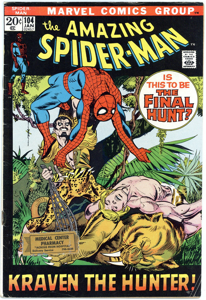 Amazing Spider-man #104 Fine-