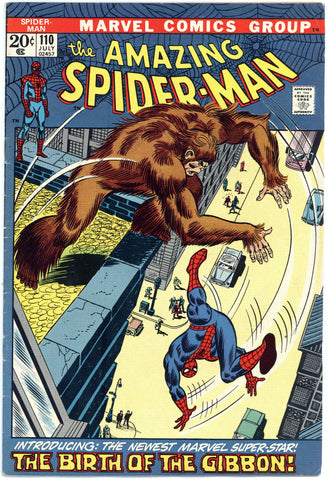 Amazing Spider-man #110 F/VF