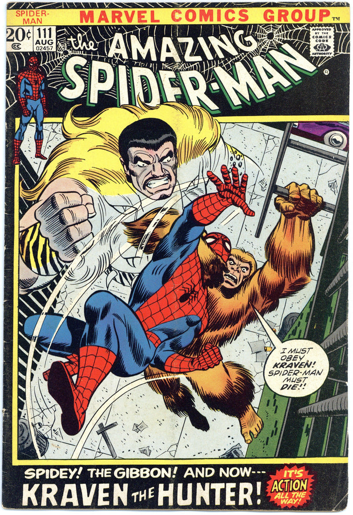 Amazing Spider-man #111 Fine+