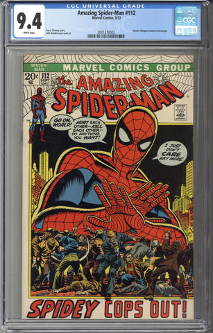 Amazing Spider-man #112 CGC 9.4