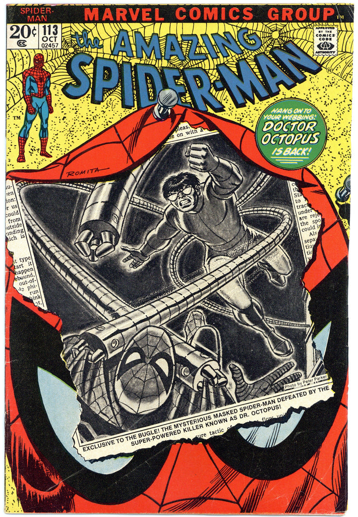 Amazing Spider-man #113 Fine