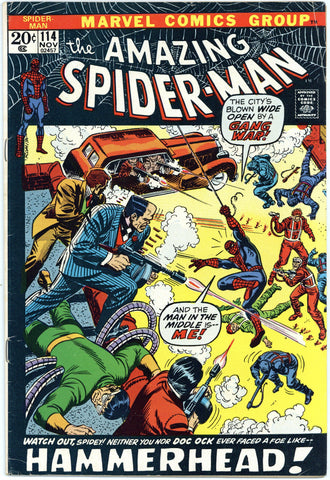Amazing Spider-man #114 Fine+
