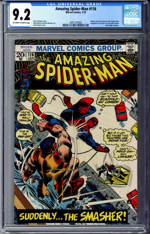 Amazing Spider-man #116 CGC 9.2