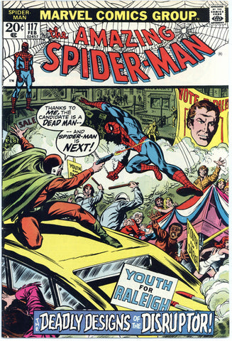 Amazing Spider-man #117 VF-