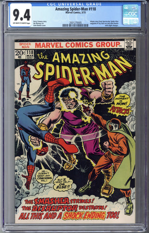 Amazing Spider-man #118 CGC 9.4