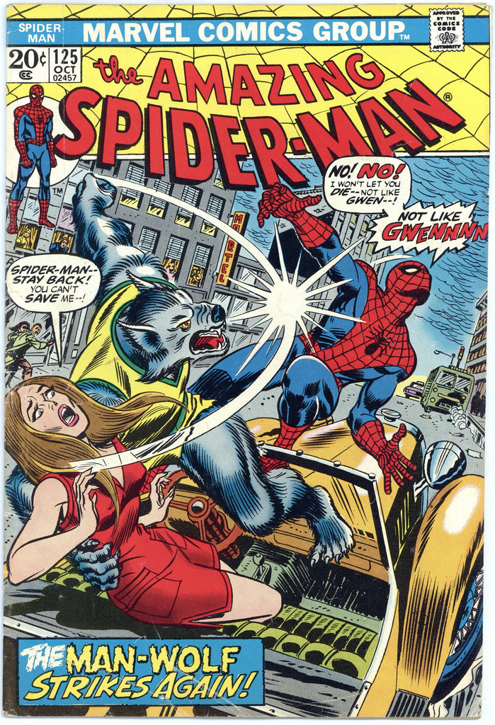 Amazing Spider-man #125 VG+