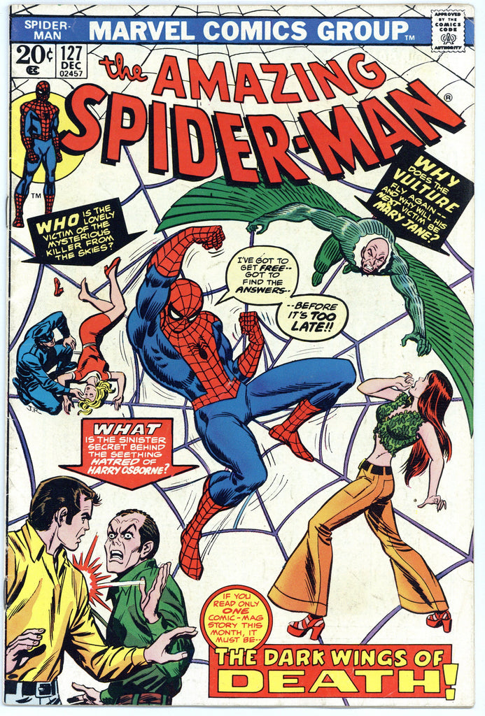 Amazing Spider-man #127 VG/F