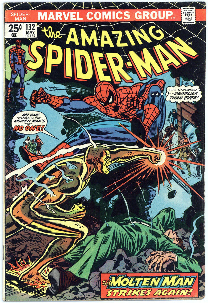 Amazing Spider-man #132 Fine