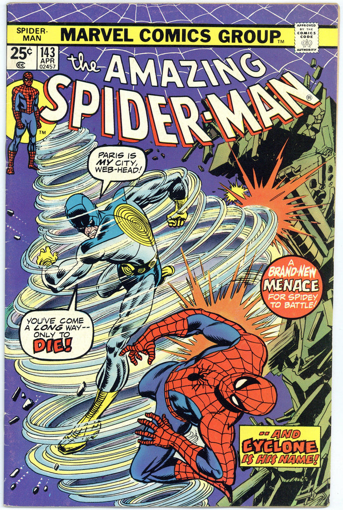 Amazing Spider-man #143 F/VF